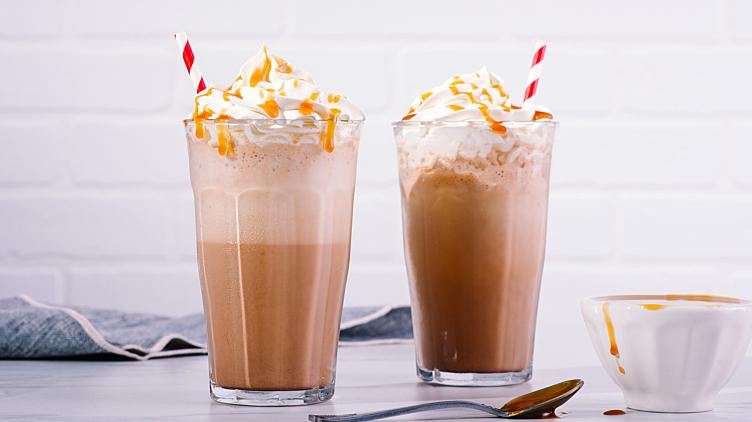 Recipe image for: Salted Caramel Mocha Shake