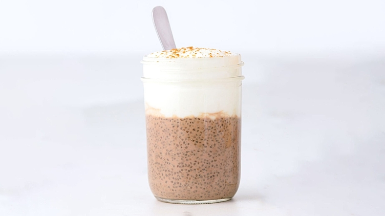 Recipe image for: Café Latte Chia Pudding