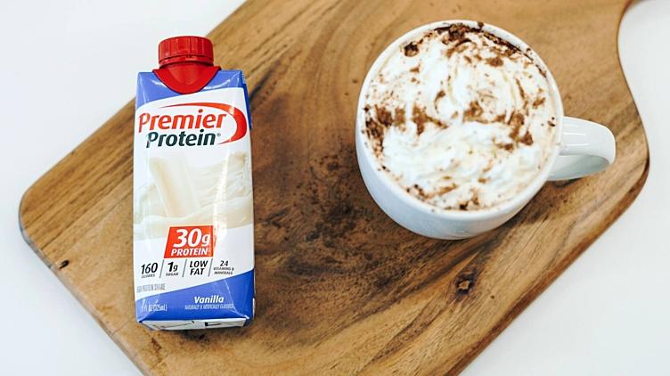 Image de recette pour: Moka léger au caramel
