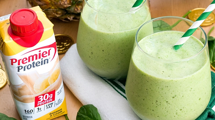 Recipe image for: St. Patrick's Day Smoothie